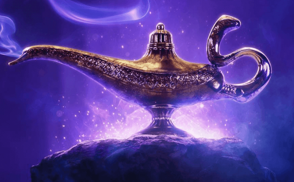 Aladdin: ecco il primo poster del live-action con Will Smith