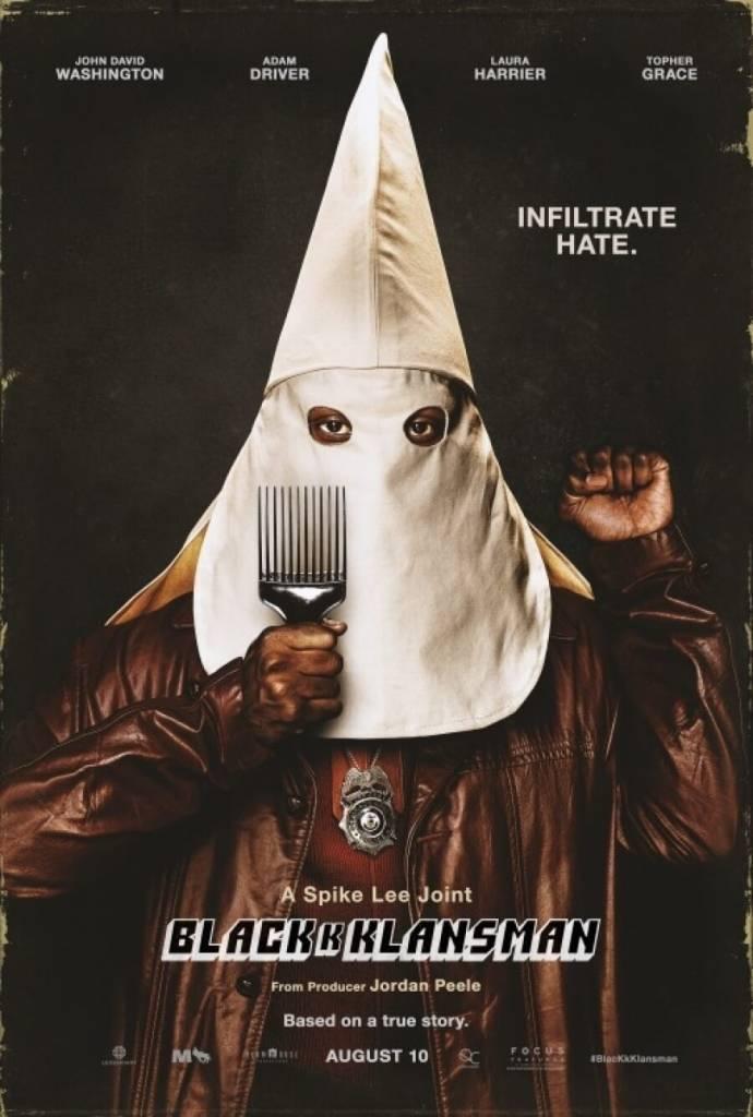 Risultato immagini per blackkklansman film