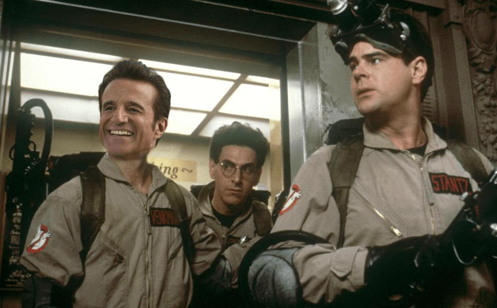 Christian De Sica sul set del Ghostbusters italiano